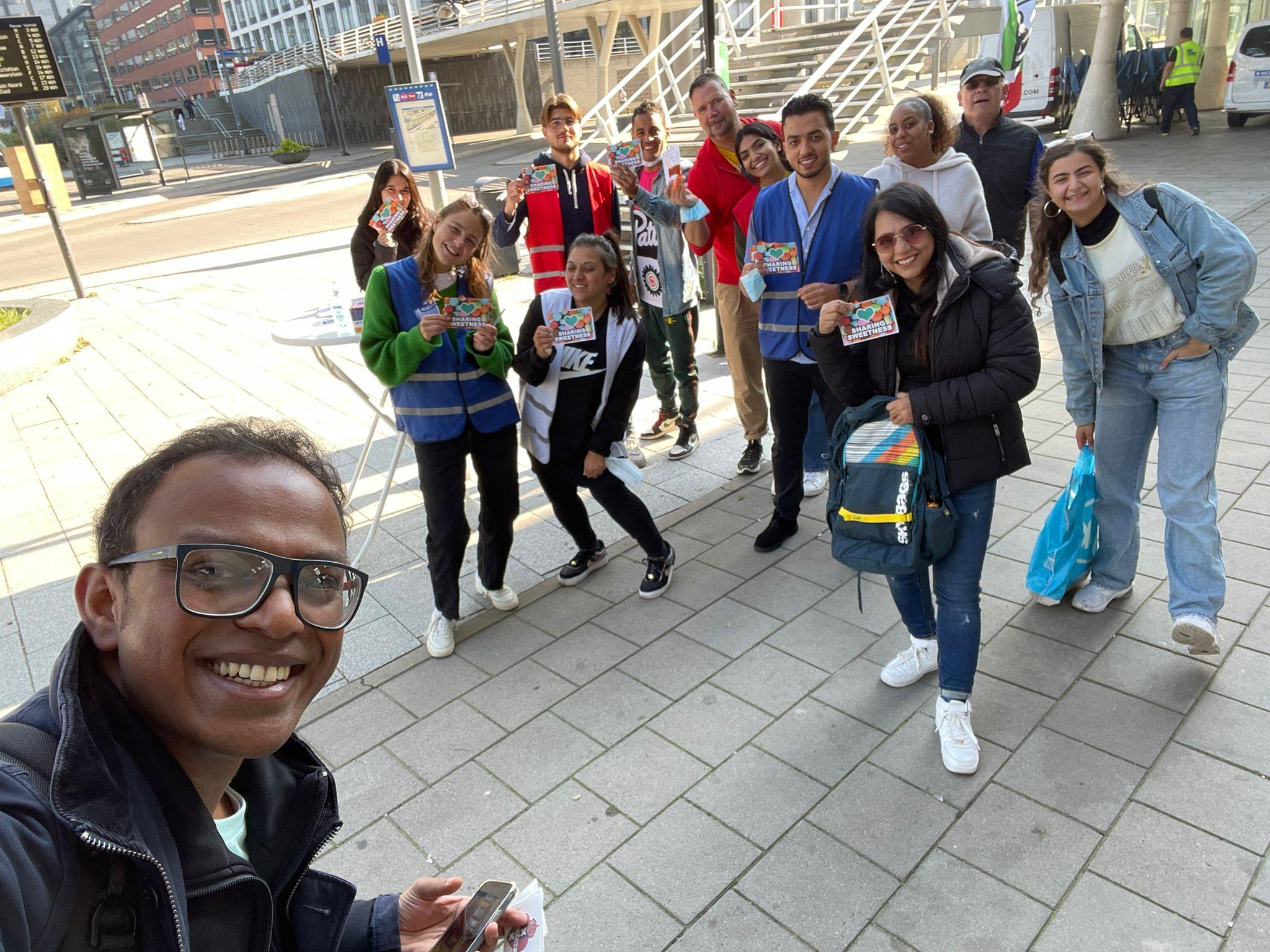 Volunteerwork in Amsterdam West
