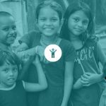 Playing with refugee kids - Serve the City 2019