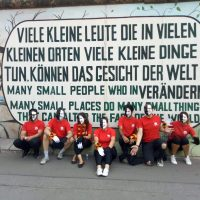 STC Motto wall - Serve the City Berlin